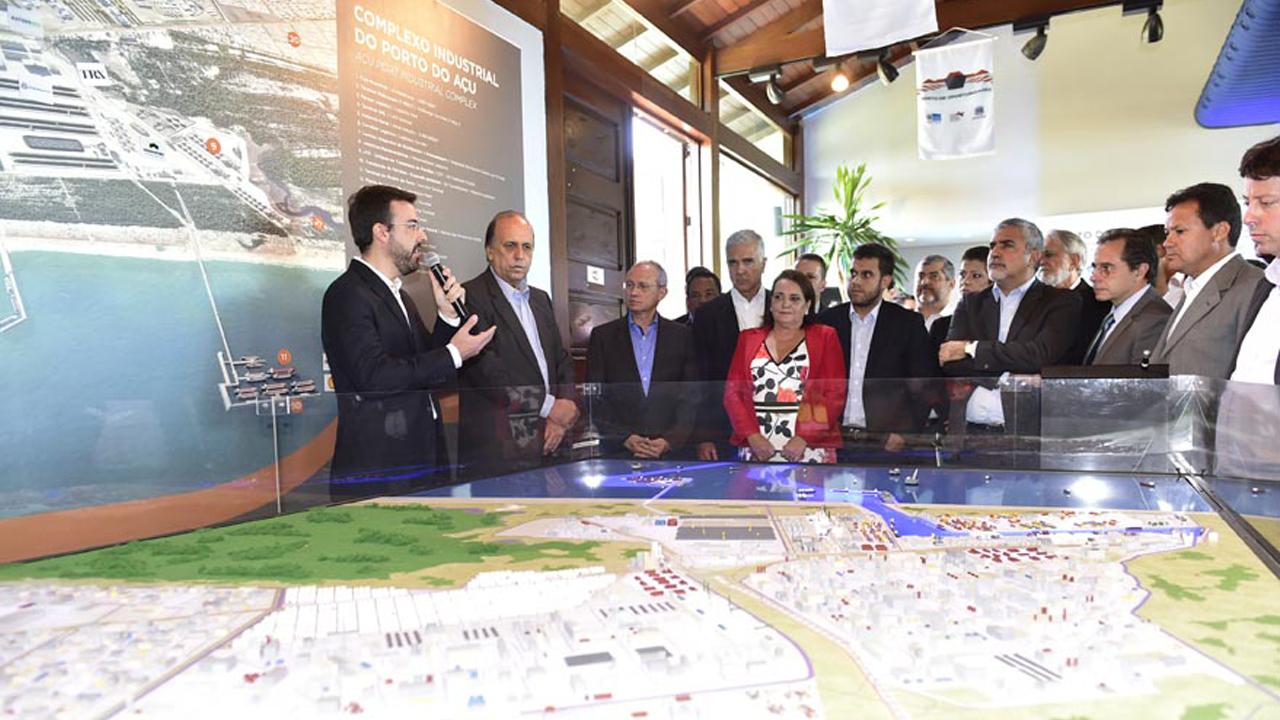 Os governadores do Rio de Janeiro e do Espírito Santo assinaram uma carta endereçada ao presidente reforçando a importância da implantação de ferrovia.