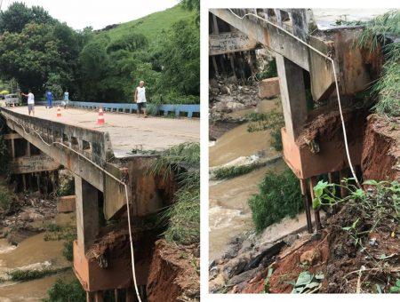 Deputado Christino luta pela recuperação da ponte sobre o Rio São Pedro em Trapiche