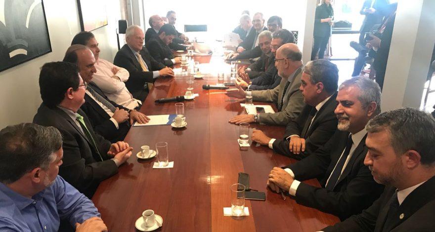 Em encontro, ele destacou a importância de compensações de perdas com a Lei Kandir. O objetivo é conseguir mais recursos para o Estado do Rio.