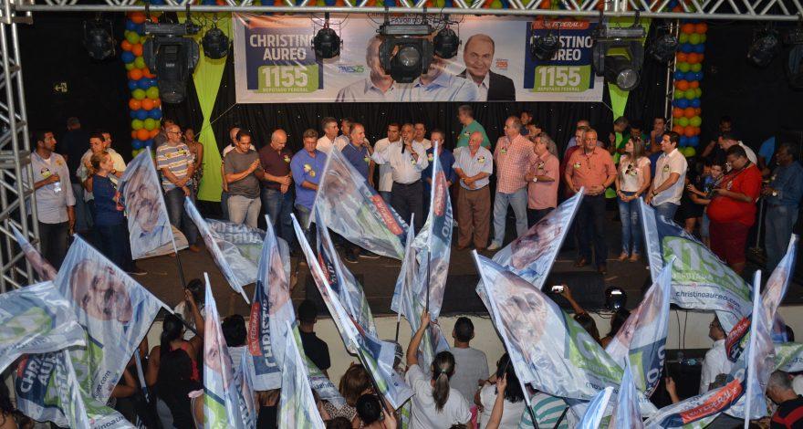 Christino Áureo lança campanha na região serrana