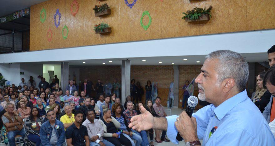 Lançamento da campanha de Christino Áureo em Araruama e região