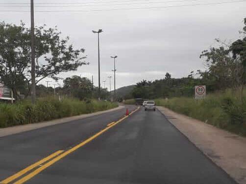 A reforma da Avenida Amaral Peixoto é um pedido antigo de motoristas que passam pela rodovia e foi possível graças ao deputado Christino Áureo.