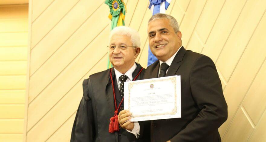 O deputado Christino Áureo foi eleito deputado federal nesta terça-feira (18/12). O evento foi no auditório da Emerj, no Rio de Janeiro.