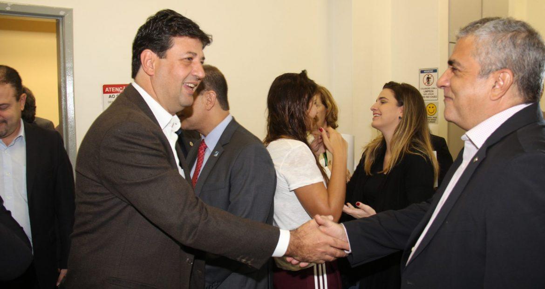 No lançamento da Campanha de Doação de Leite Materno, Christino Áureo destacou a importância da ampliação do número de leitos nas UTIs neonatais no Estado.